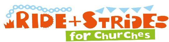 Ride + Stride for Churches logo
