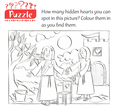 How many hidden hearts can you spot?