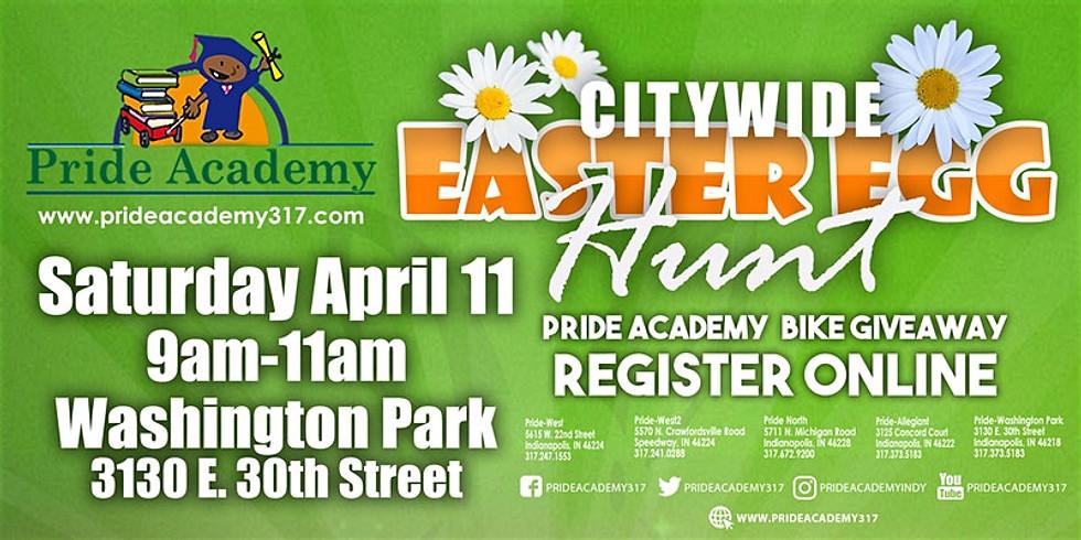 Easter Egg Hunt- Volunteering w/ Pride Academy