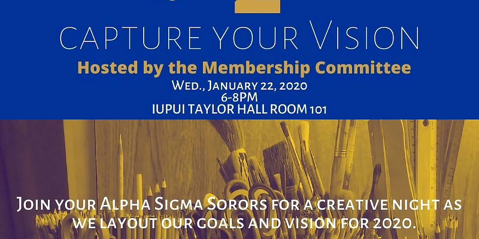 """""""Capture the Vision"""" Vision Board Party"""
