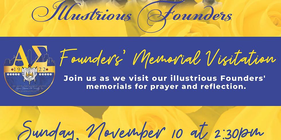 2019 Founders' Celebration: Memorial Visitiation