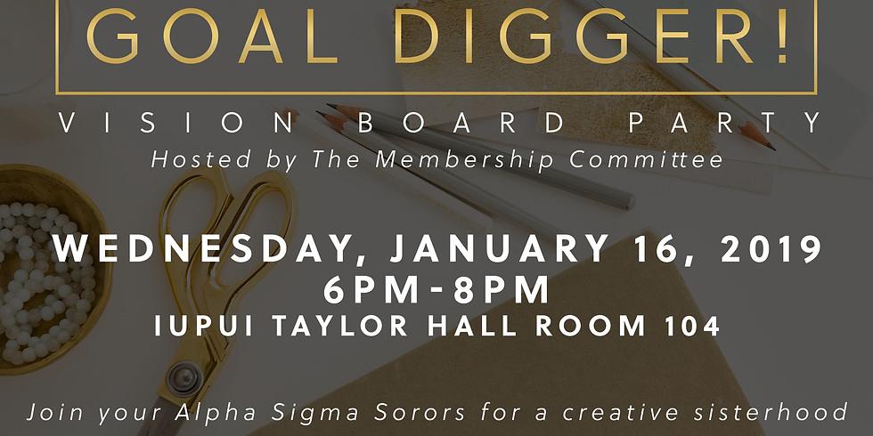 Goal Digger: Vision Board Party