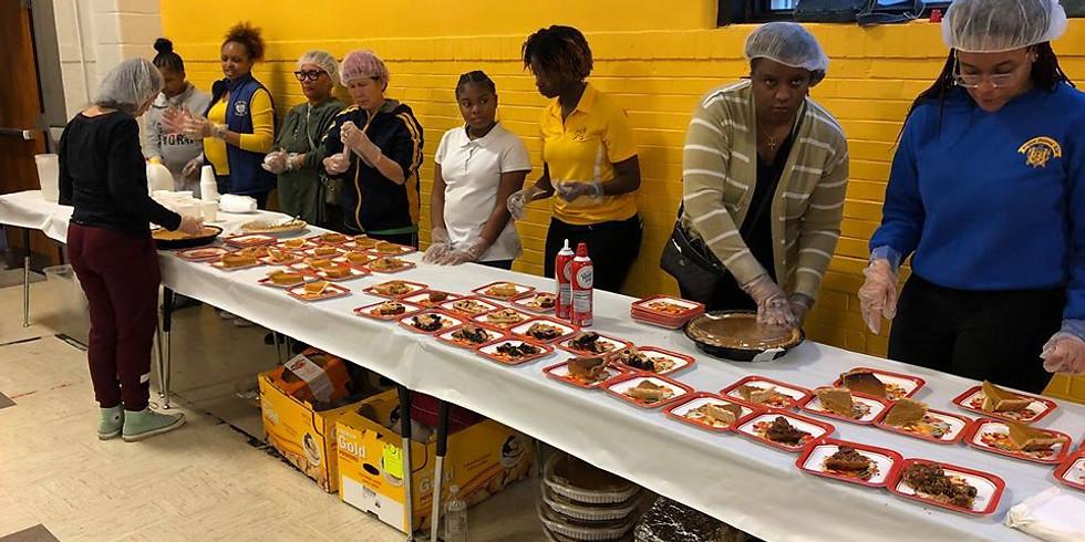 Edna Martin Thanksgiving Day Community Service