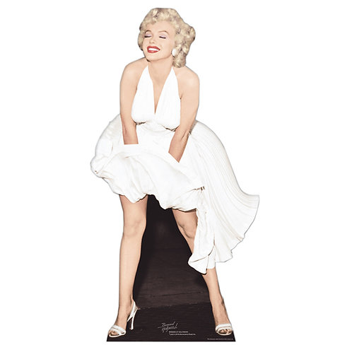 Location Marilyn grandeur nature en carton