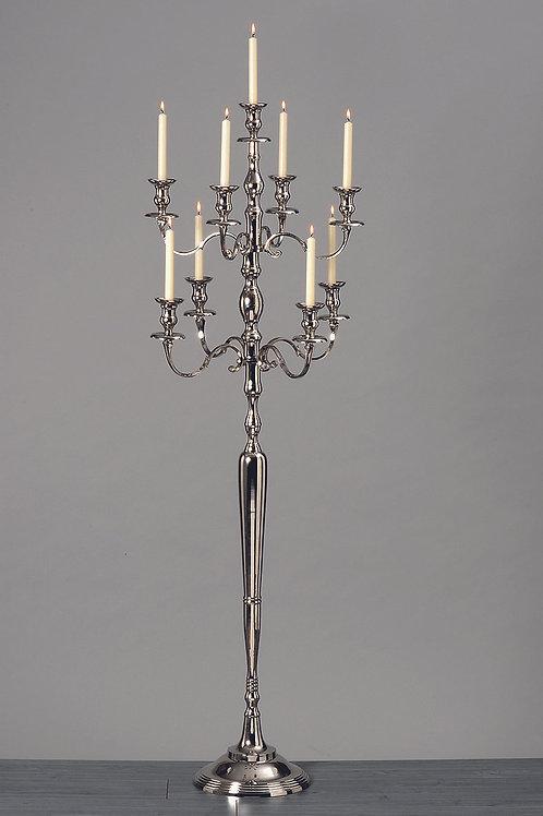 Location chandelier 180cm argenté