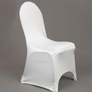 Location Housse de chaise lycra blanche