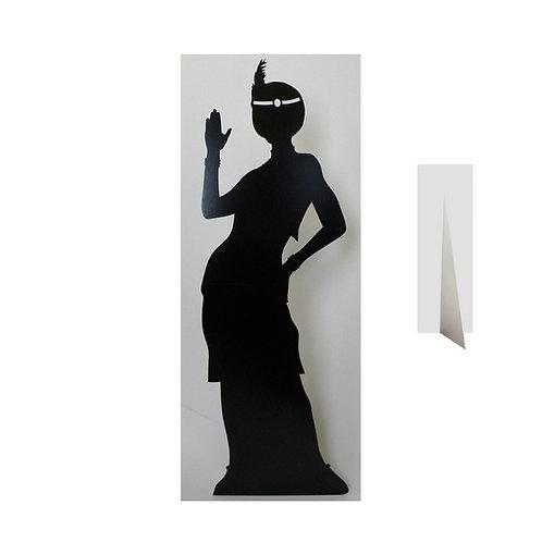 Location Silhouette femme cabaret