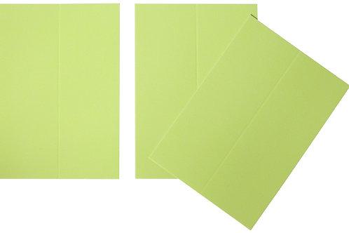 Vente marque-places en carton anis x10
