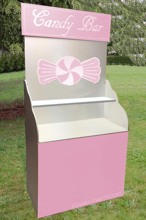 Location Petit Candy bar rose