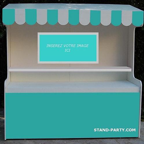 Location Bar à Bonbons Petit Modèle Turquoise