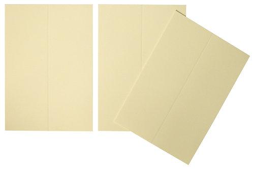 Vente marque-places en carton ivoire x10