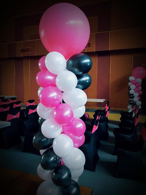 Colonne ballons simple