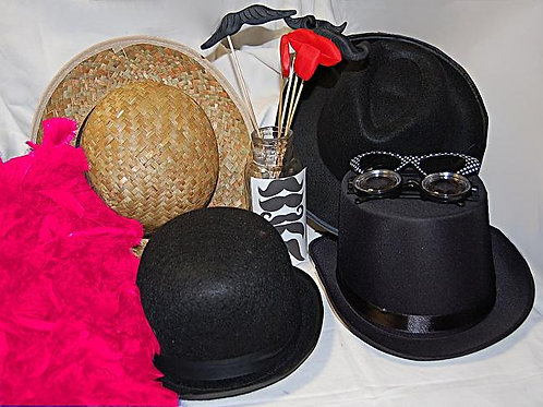 Location Accessoires photo booth vintage