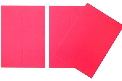 Vente marque-places en carton fuchsia x10