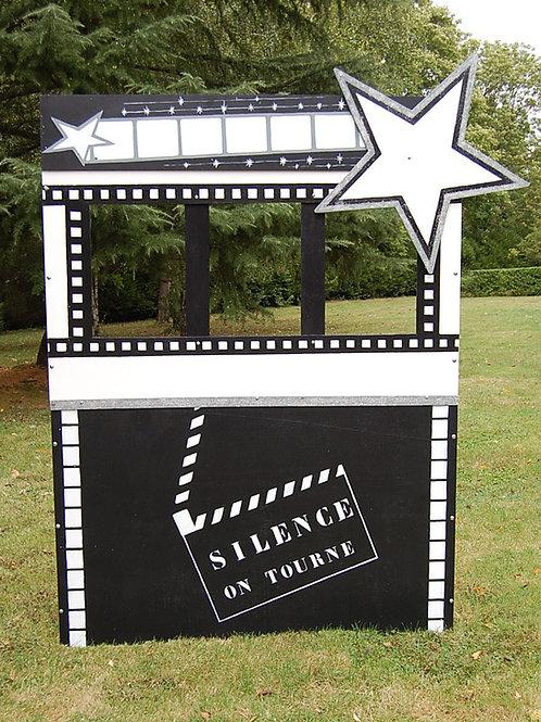 Location Mur photo booth Cinéma