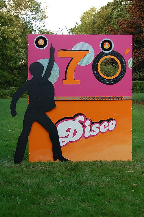 Location Mur photo booth  Disco