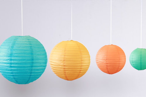 Location 12 boules chinoises thème Tropical