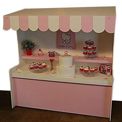 Location Bar à Bonbons Petit Modèle Rose
