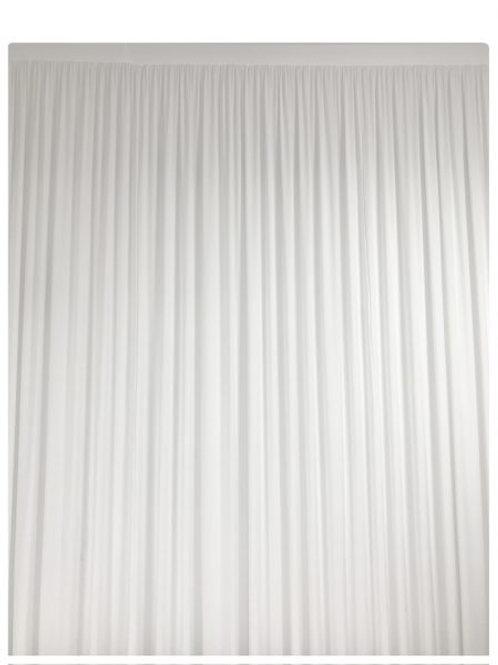Location rideau blanc 2x3m
