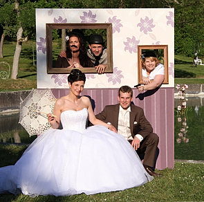 stand party decoration de mariage candy bar cabine photo booth animation photo mariage. Black Bedroom Furniture Sets. Home Design Ideas