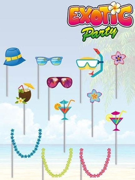 Vente kit photo booth EXOTIQUE