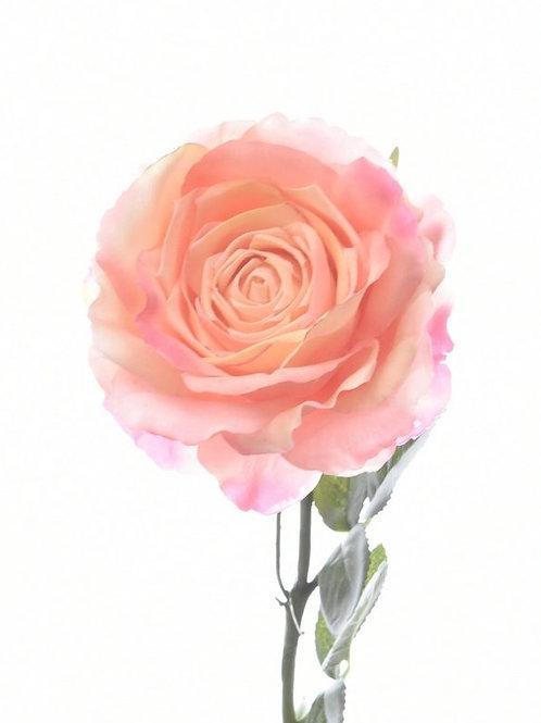Location rose artificielle rose pâle