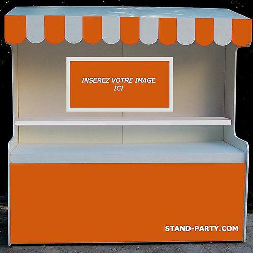 Location Bar à Bonbons Petit Modèle Orange