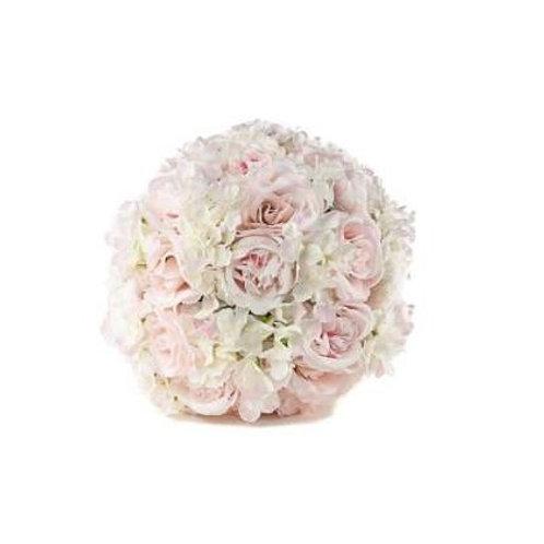 Location boule de roses rose 30cm