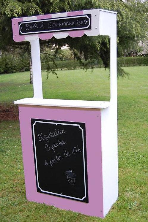 Location Petit Comptoir Rose