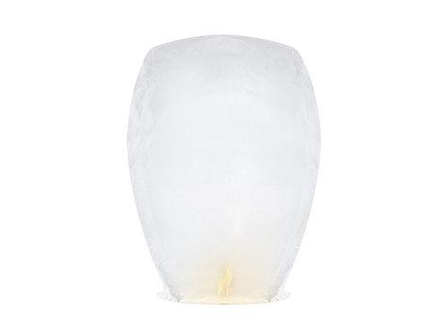 Vente lanternes volantes blanches x10