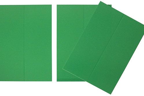 Vente marque-places en carton vert x10