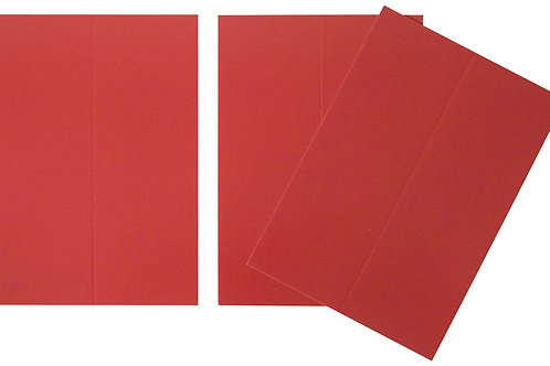 Vente marque-places en carton rouge x10