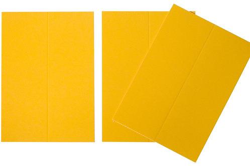 Vente marque-places en carton mandarine x10