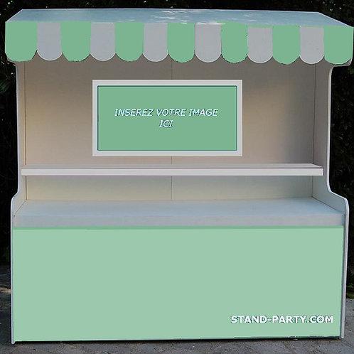 Location Bar à Bonbons Petit Modèle Anis