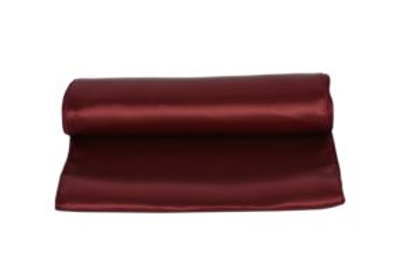 Location Chemin de table satin bordeaux
