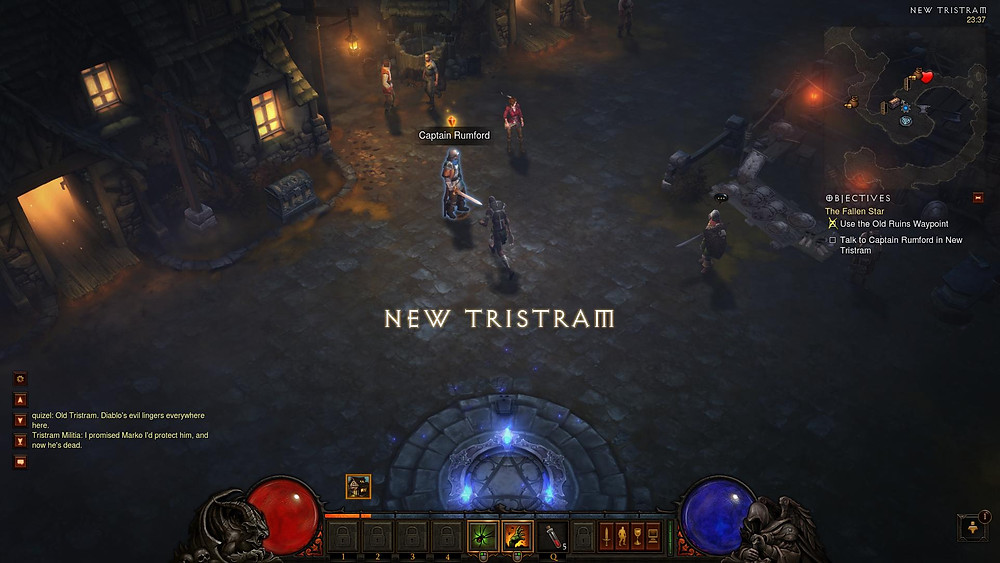 New Tristram in Diablo III