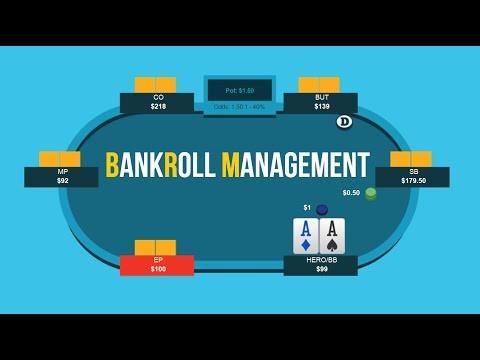 Bankroll managements in online poker