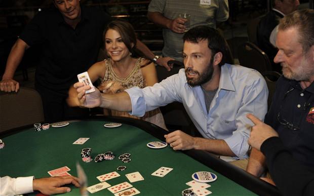 Ben Affleck playings cards