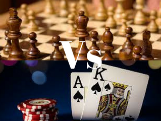 Poker Versus Chess: Which Game Is More Complex?