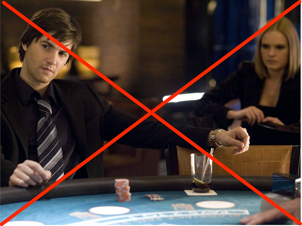 From movie 21, playing Blackjack