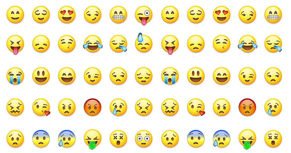 Common emojis used