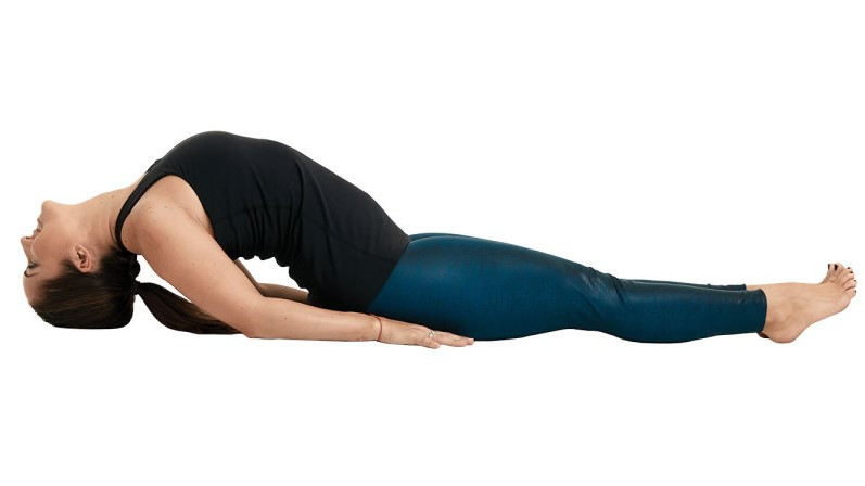 Fish Pose Yoga
