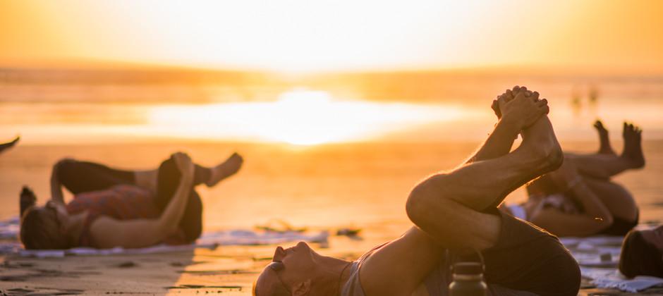 Sunset Beach Retreat Yoga