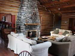 Yoga Retreat House Fire Place