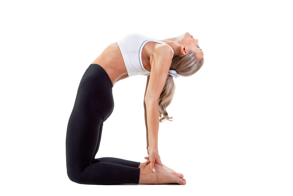 Camel Pose Yoga