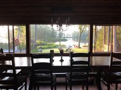 Yoga Retreat Dining Room View