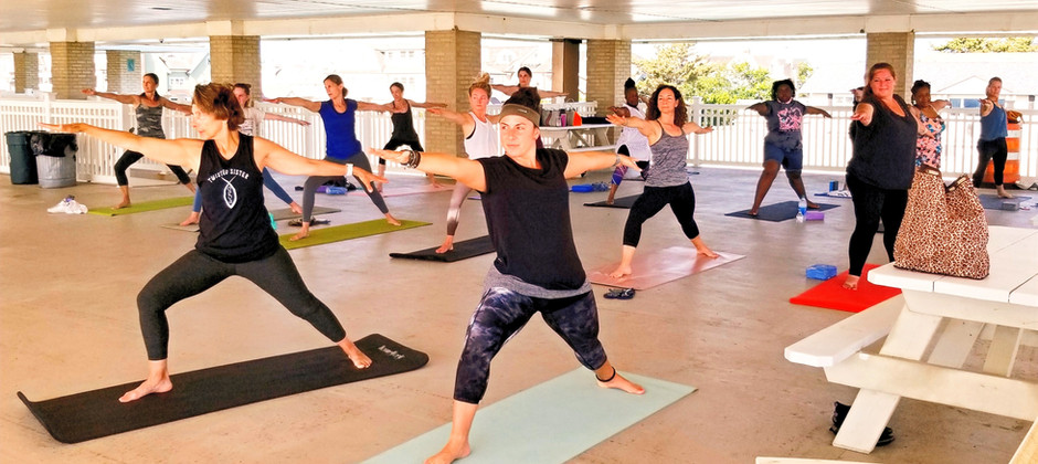 Twisted Sister Yoga Warriors