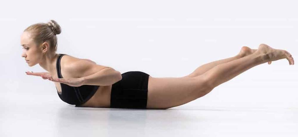 Loctus Pose for Bone Health