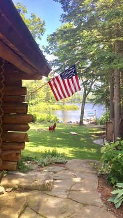 Yoga Retreat Lake House View