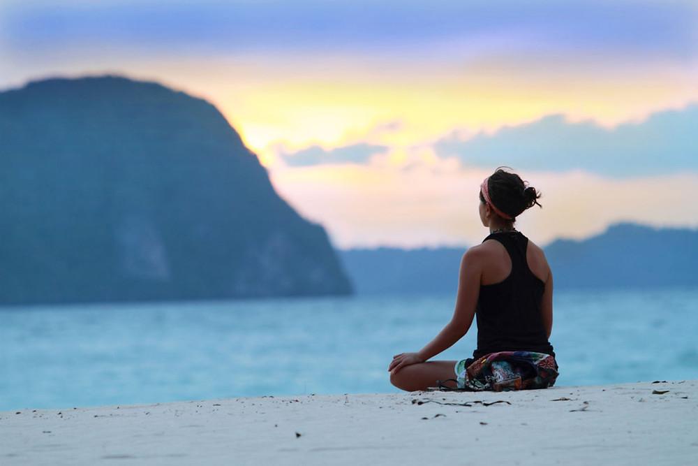 Twisted Sister Yoga Seated Meditation